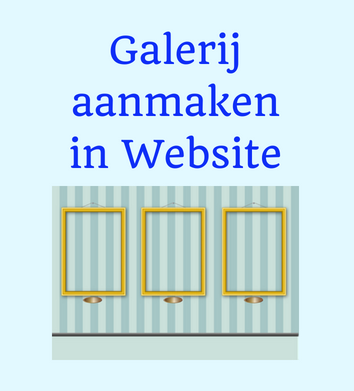 Galerij aanmaken website wordpress| Sitescoach webdesign Limburg