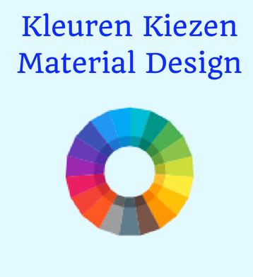 Kleuren kiezen website material design |Sitescoach