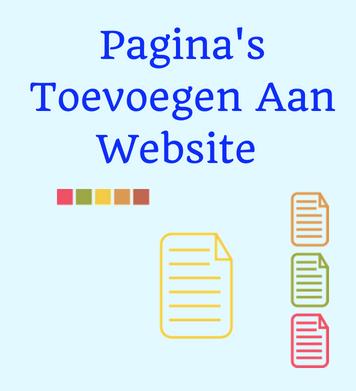 website maken en pagina's toevoegen- Sitescoach webdesign Limburg