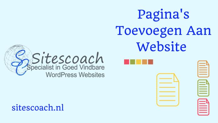website maken en pagina's toevoegen |Sitescoach webdesign Limburg