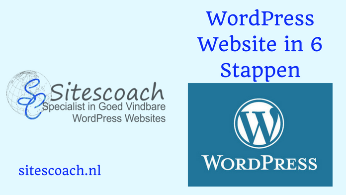 WordPress Website in 6 Stappen door Sitescoach Webdesign Limburg