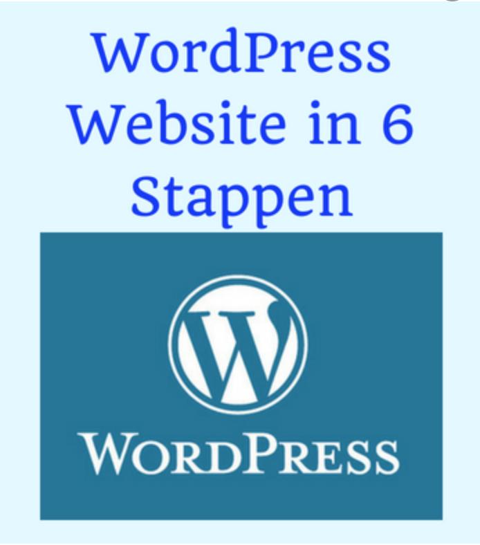 Wordpress-website-maken-6-stappen