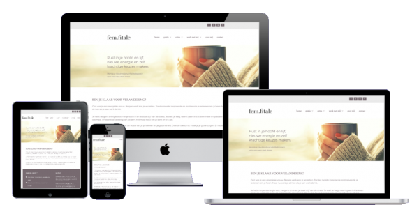 website laten maken in wordpress- femfitale